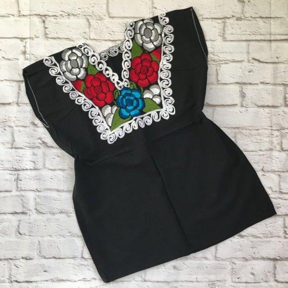 Zinacantan Blouse - Blusa Artesanal Mexicana